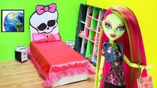 Manualidades para muñecas: CAMA UNIVERSAL para muñecas MONSTER HIGH - manualidadesconninos