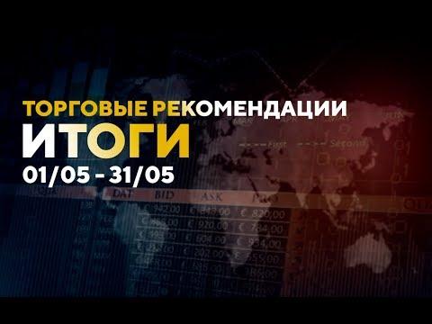 Итоги торговых рекомендаций 01/05 - 31/05