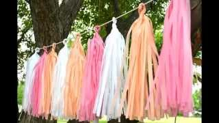 Бумажный декор свадеб и других мероприятий от Royal Holiday(, 2014-10-30T11:29:01.000Z)