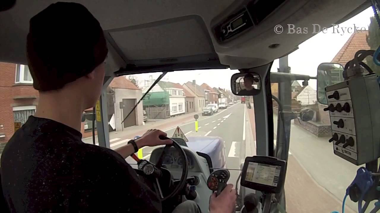 New Holland T7 270 Ac Bp Gopro Cab View