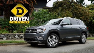 2017 Volkswagen Atlas Sel Premium 4motion Car Review