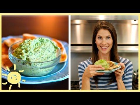 EAT | After-School Snack: Edamame Hummus