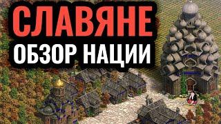 Славяне — обзор нации и гайд. Стратегия Age of Empires 2