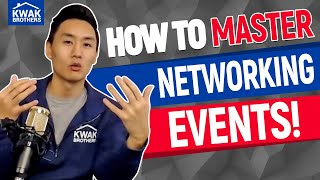 How to Master Networking Events!