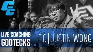 """EG.Justin Wong Training Series #03: """"LIVE COACHING GOOTECKS"""" (@jwonggg, @gootecks)"""