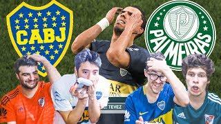 BOCA vs PALMEIRAS | SEMIFINAL Copa Libertadores 2018 | PES 2019