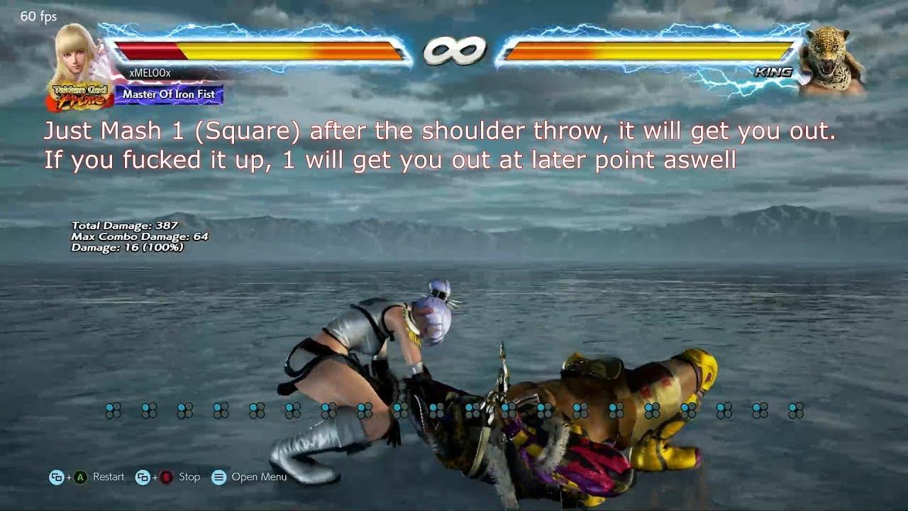 Tekken 7 Counter Guide King Throw Combo Youtube