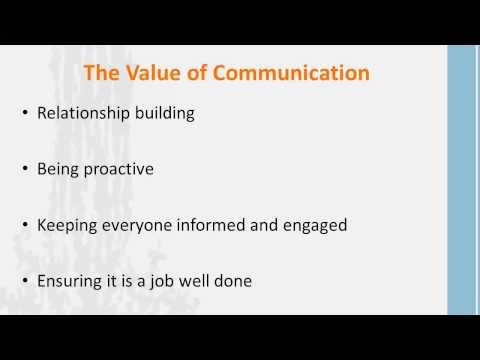 E14: The Importance of Communication