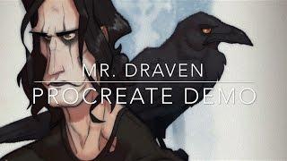Mr. Draven (The Crow) - Procreate Demo