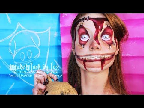 Alice Madness Returns: Insane/Asylum Child Makeup Tutorial