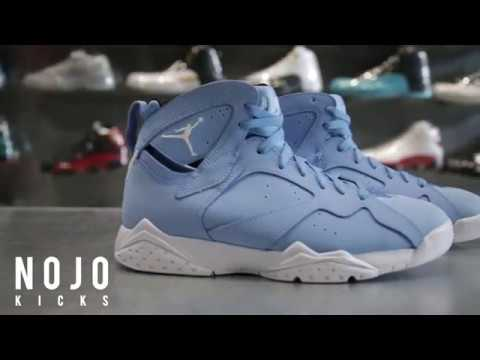 8a3d7e26f9db Air Jordan 7 Pantone  NoJo Kicks - YouTube
