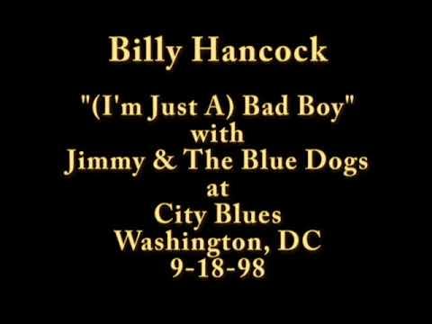 Billy Hancock Singing (I'm Just A) Bad Boy @ City Blues 9-18-98