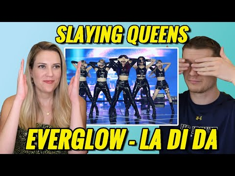 Reacting to EVERGLOW for the First Time! EVERGLOW (에버글로우) - LA DI DA MV Reaction! (G-Mineo Reacts)