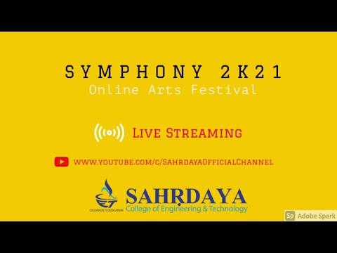 Symphony 2k21 Online Arts Festival |Sahrdaya College of Engineering & Technology
