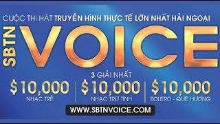 Đón xem SBTN VOICE trên đài SBTN vào ngày 19/8/2018