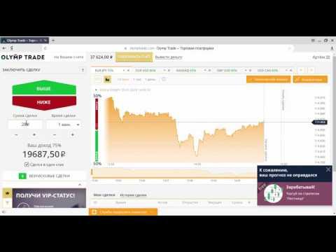 Путь к 1 000 000 рублей на бинарных опционах OLYMP TRADE проверенная стратегия