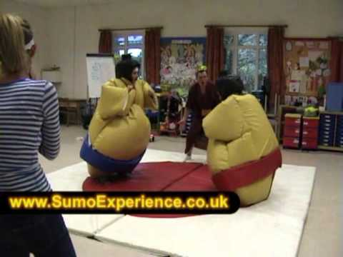 Sumo Experience running a fun Hen party