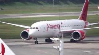 Llegada del primer Boeing 787 de Avianca a Bogotá