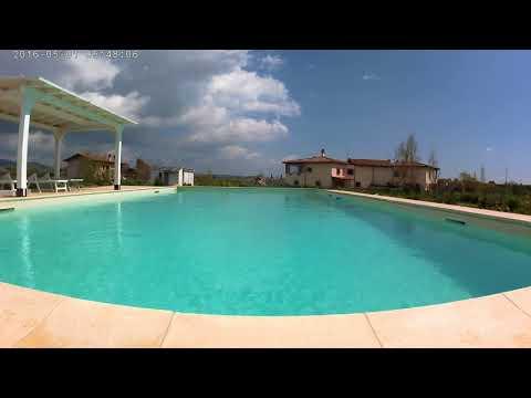 ASMR 4k swimming pool sounds ( CamPark Xtreme I+ ) Suoni della Campagna in 4k.