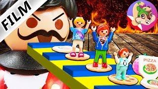 Playmobil Rodzina Wróblewskich | Ucieczka z pizzeri - Czy rodzina się wydostanie?