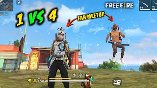 Unbeatable AWM Solo vs Squad Insane OverPower Gameplay - Garena Free Fire