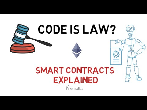 CODE IS LAW? Smart Contracts Explained (Ethereum, DeFi)