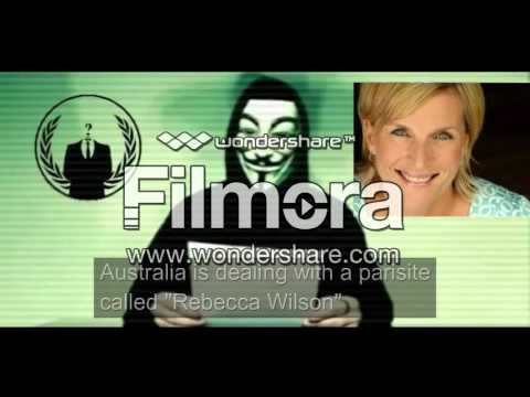 Anonymous declares war on Rebecca Wilson