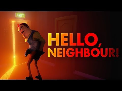 PLAYING AN INSANELY SCARY NEW HORROR GAME [HELLO NEIGHBOR]