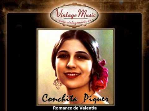 Conchita Piquer - Romance de Valentía (VintageMusic.es)