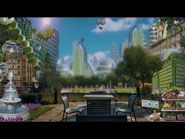 Seraph City [ASMR] ⋄ Solarpunk ☼  Ambience of The Carbon Coast Solarpunk Novel
