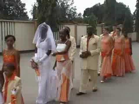 African - German Wedding