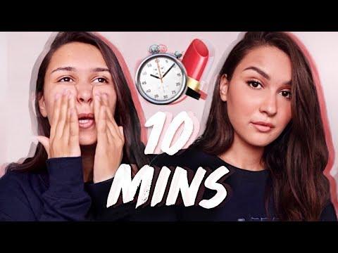 SE MAQUILLER EN MOINS DE 10 MINS (Makeup Routine)