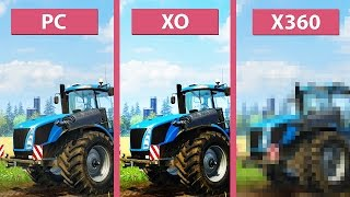 Farming Simulator 15 – PC Max vs. Xbox One vs. Xbox 360 Graphics Comparison [60fps][FullHD]