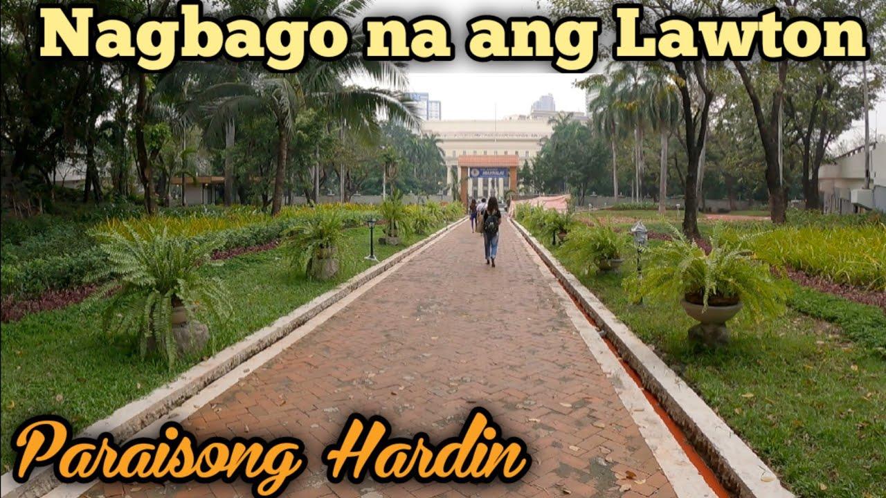 Nakamamanghang pagbabago sa Lawton | Manila Update