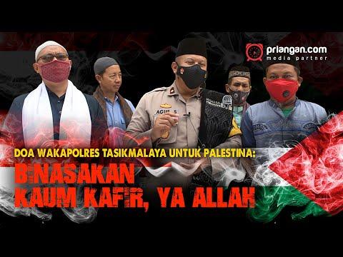 Doa Wakapolres Tasikmalaya untuk Palestina: Binasakan Kaum Kafir, Ya Allah