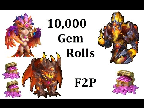 Really IGG? 10k Rolled For New Heroes Talents Duplicates Castle Clash Rafuk