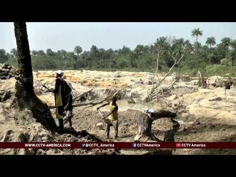 Ebola weakens West African mining industry