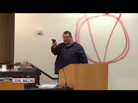 Heroes act to save others as gunman attacks school board meeting (Pt 1) - Crime Watch Daily