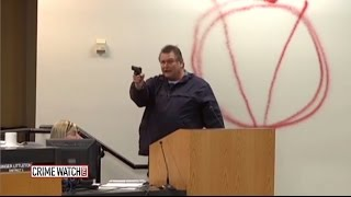 Heroes act to save others as gunman attacks school board meeting (Pt 1) - Crime Watch Daily thumbnail