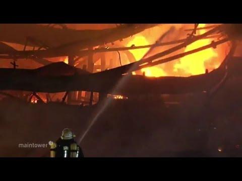 Großbrand in Sägewerk in Schauenburg