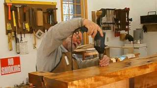 Making A Fireplace Mantle Part 11, Shop Assembly: Andrew Pitts~furnituremaker