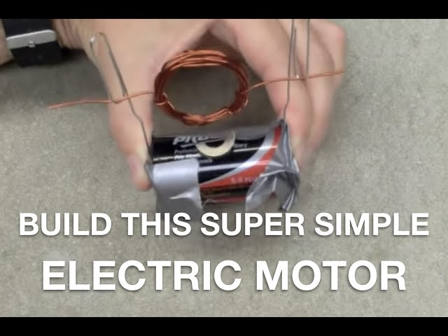 simple homemade electric motor. How To Build A Super Simple Electric Motor Out Of Stuff You Already Have | WIRED Homemade M
