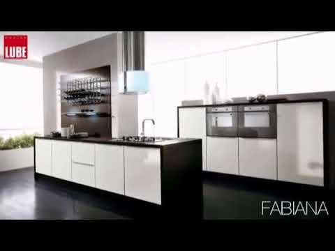 Cucina moderna Lube modello Fabiana. - YouTube
