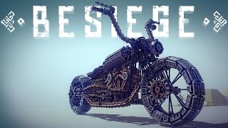 Besiege Best Creations - BIGGEST/MOST COMPLEX DESIGNS - Besiege Gameplay Funny Moments