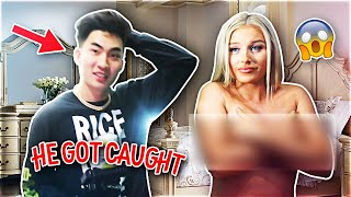 CAUGHT GIRLFRIEND IN THE ACT WITH ROOMMATE (IT WAS RICEGUM)
