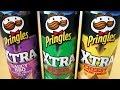 Pringles Xtra Saucy BBQ Nacho Cheese Sour Cream Onion mp3