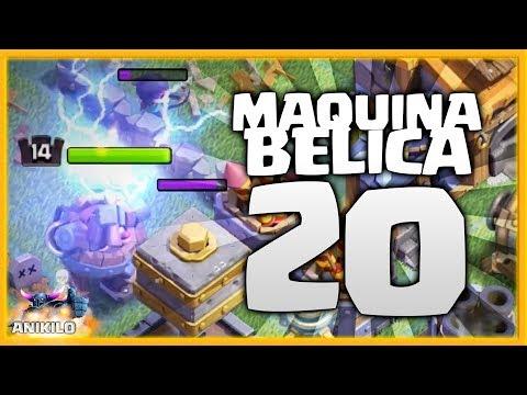NUEVO NIVEL DE MARTILLO ELECTRICO - #MAQUINABELICA20 - CLASH OF CLANS - ALDEA NOCTURNA