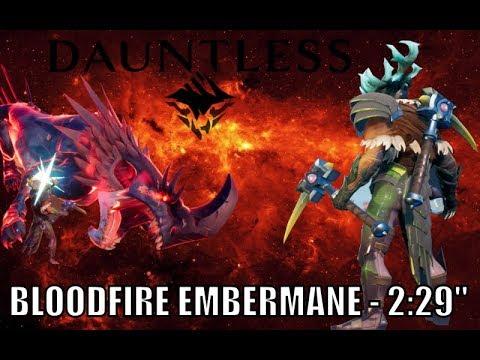 Dauntless - Bloodfire Embermane - Chainblades - 2:29