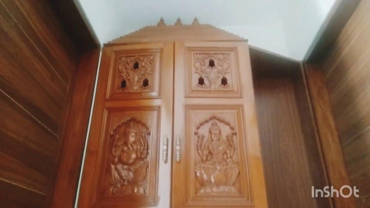 Pooja Room Door Carving Designs Modern Pooja Room Door