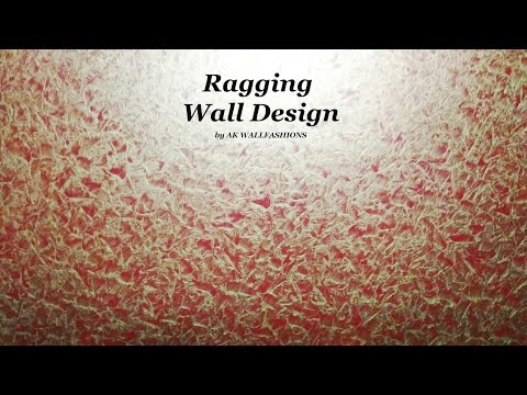 Asian Paints Royale Play Spatula Metallic Texture Design video 2